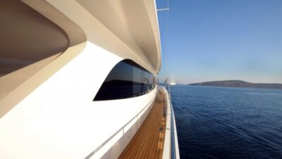 Motor Yachts Side View